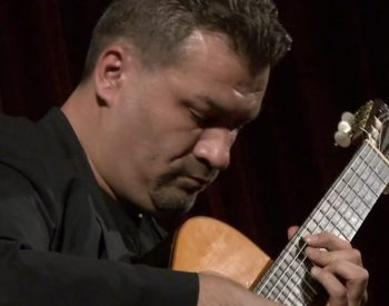 Antal Pustay plays in Sinaia Guitar Festival 2016