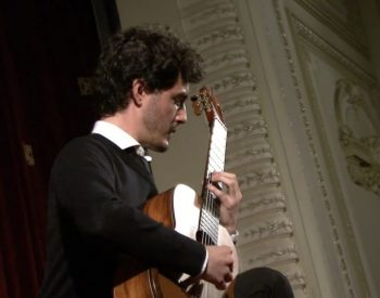 Gabriel Bianco plays in Sinaia Guitar Festival 2016 Part 1.00_01_59_18.Still002